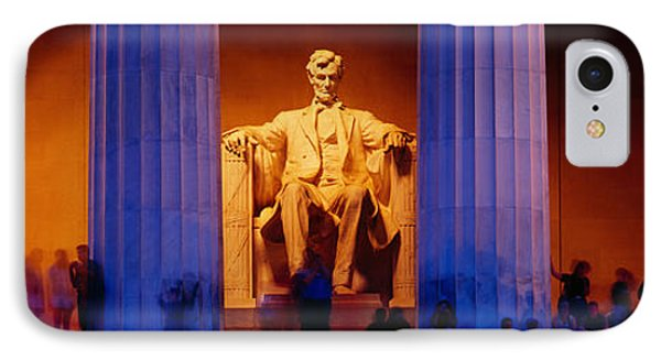 Lincoln Memorial, Washington Dc IPhone Case by Panoramic Images