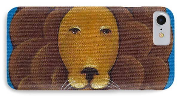 Lion IPhone Case by Christy Beckwith