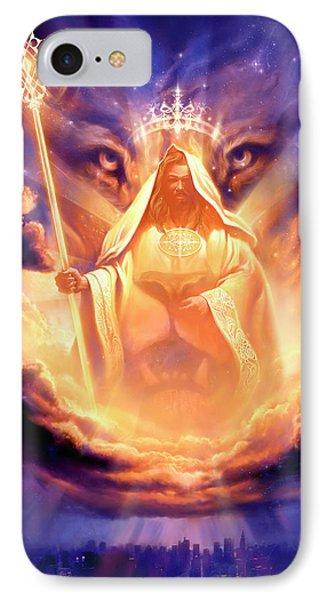 Lion Of Judah IPhone Case by Jeff Haynie