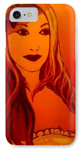 Lisa Darling II - The Irish Burlesque School IPhone 7 Case by John  Nolan
