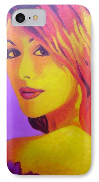 Lisa Darling IIi - The Irish Burlesque School IPhone 7 Case by John  Nolan