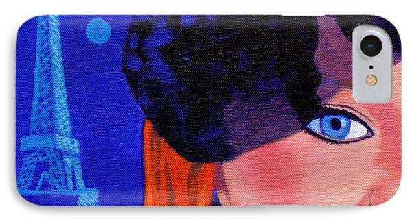 Lisa Darling - Paris - Irish Burlesque IPhone 7 Case by John  Nolan