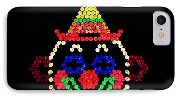 Lite Brite - The Classic Clown Phone Case by Benjamin Yeager