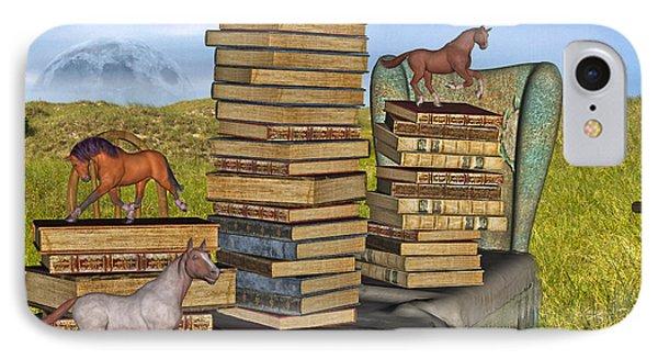 Literary Levels Phone Case by Betsy Knapp