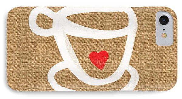 Little Cup Of Love IPhone Case by Linda Woods