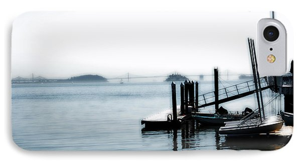Little Dock On The Bay IPhone Case by Jan Garcia