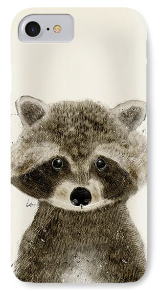 Little Raccoon IPhone Case by Bri B