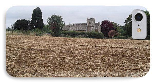 Little Rissington Church 2 Phone Case by John Williams