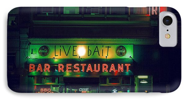 Live Bait IPhone Case by Andrew Paranavitana