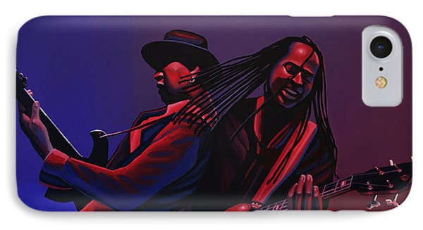 Living Colour Painting IPhone Case by Paul Meijering