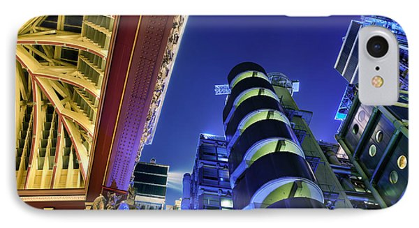 Lloyd's Of London And Leadenhall Market IPhone Case by Rod McLean
