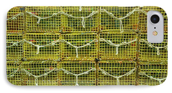 Lobster Traps, Rockport, Essex County IPhone Case by Panoramic Images