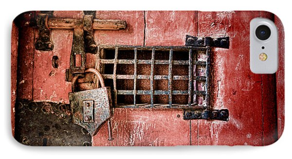 Locked Up IPhone Case by Olivier Le Queinec