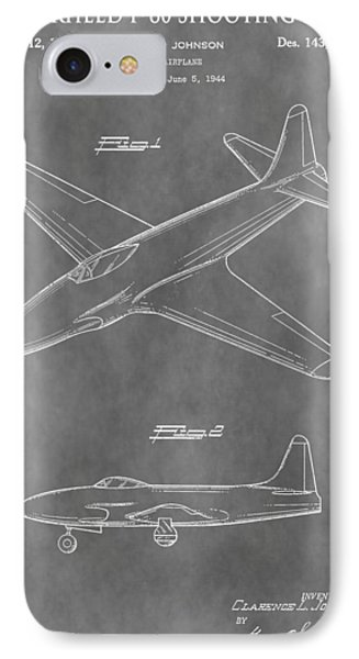 Lockheed P-80 Shooting Star IPhone Case by Dan Sproul