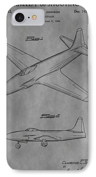Lockheed Patent IPhone Case by Dan Sproul