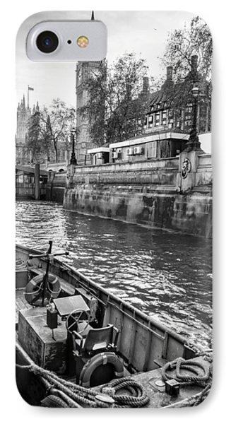 London Dock IPhone Case by Glenn DiPaola