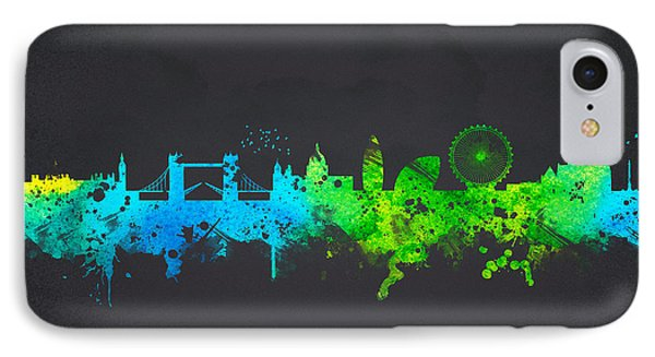 London England IPhone Case by Aged Pixel