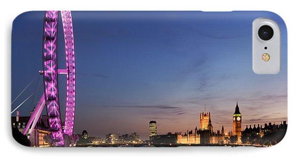 London Eye IPhone Case by Rod McLean