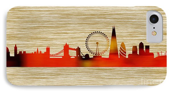 London Skyline IPhone Case by Marvin Blaine