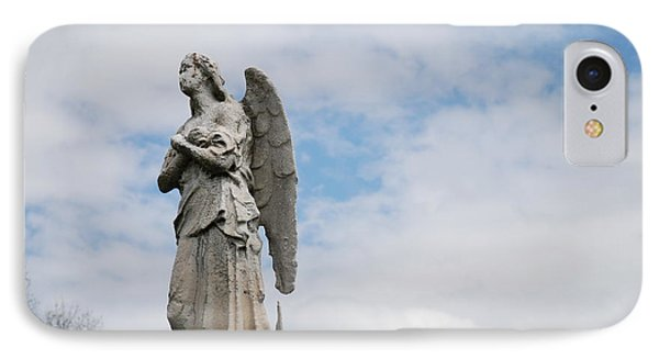 Lonely Angel IPhone Case by Jennifer Ancker