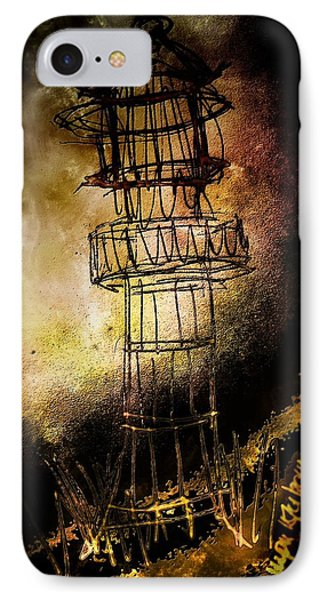 Lonely Lighthouse IPhone Case by Mimulux patricia no