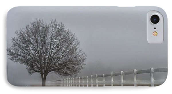 Lonely Tree IPhone Case by Louis Dallara