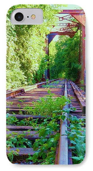 Lonesome Railroad #5 Phone Case by Robert ONeil