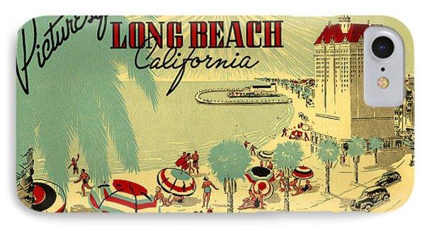 Long Beach 1946 Phone Case by Georgia Fowler