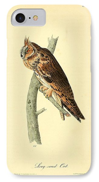 Long Eared Owl IPhone Case by Philip Ralley