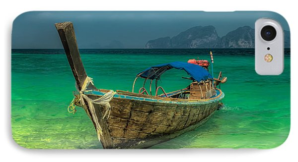Longboat IPhone 7 Case by Adrian Evans