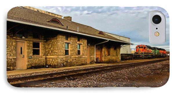 Longmont Depot Phone Case by Jon Burch Photography