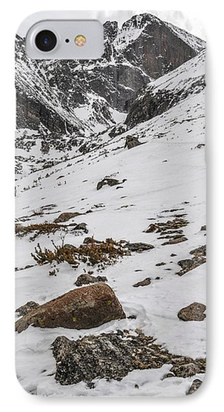 Longs Peak -  Vertical Phone Case by Aaron Spong