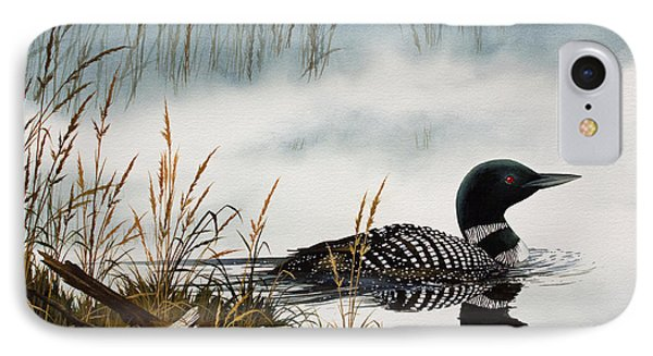 Loons Misty Shore IPhone 7 Case by James Williamson