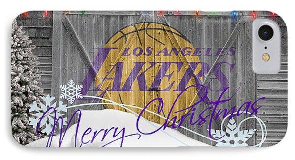 Los Angeles Lakers IPhone Case by Joe Hamilton