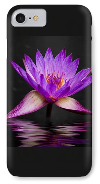 Lotus IPhone 7 Case by Adam Romanowicz