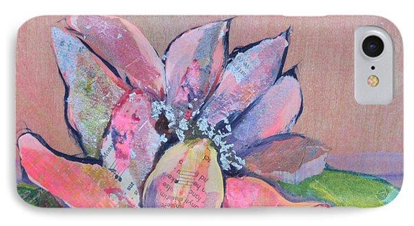 Lotus Iv IPhone Case by Shadia Derbyshire