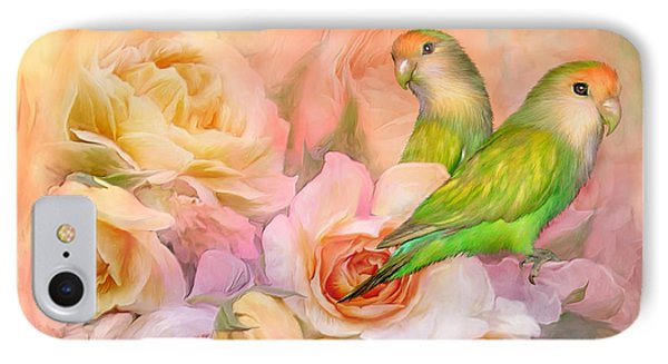 Love Among The Roses Phone Case by Carol Cavalaris