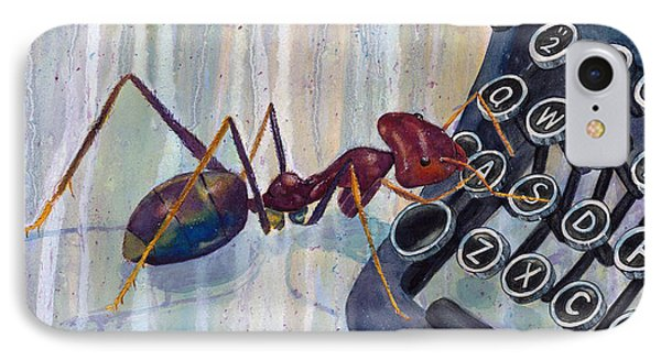 Type A Ant IPhone Case by Marie Stone Van Vuuren
