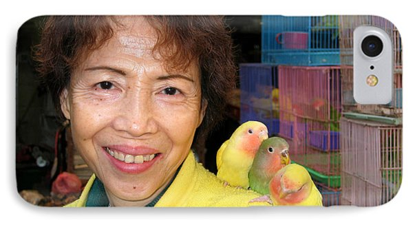 Love Birds Phone Case by Eva Kaufman