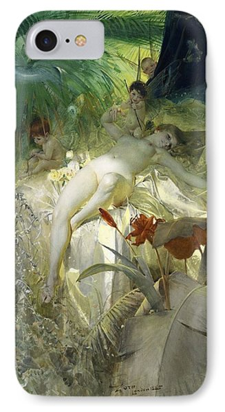 Love Nymph Phone Case by Anders Zorn