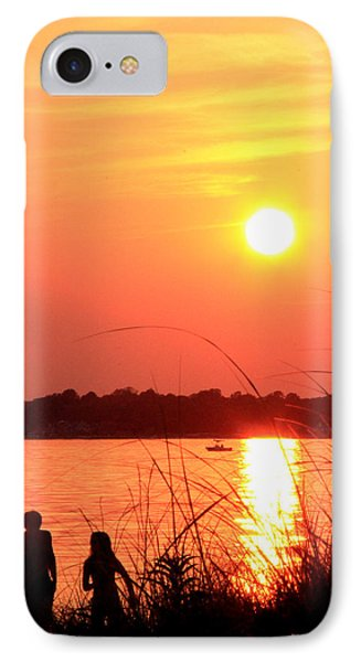 Love You IPhone Case by Mark Ashkenazi