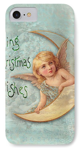 Loving Angel Wishes Phone Case by Sarah Vernon