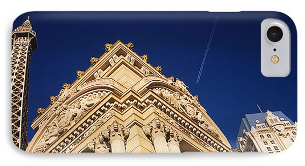 Low Angle View Of A Building In Front IPhone Case by Panoramic Images