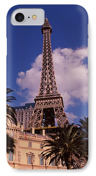 Low Angle View Of A Hotel, Replica IPhone Case by Panoramic Images