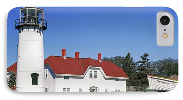 Low Angle View Of A Lighthouse, Chatham IPhone Case by Panoramic Images