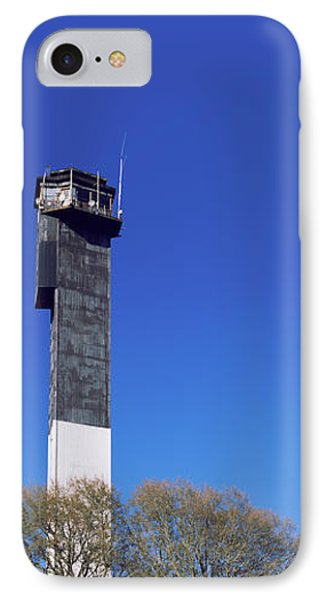 Low Angle View Of A Lighthouse IPhone Case by Panoramic Images