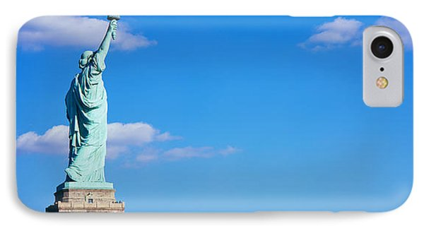 Low Angle View Of A Statue, Statue IPhone 7 Case by Panoramic Images