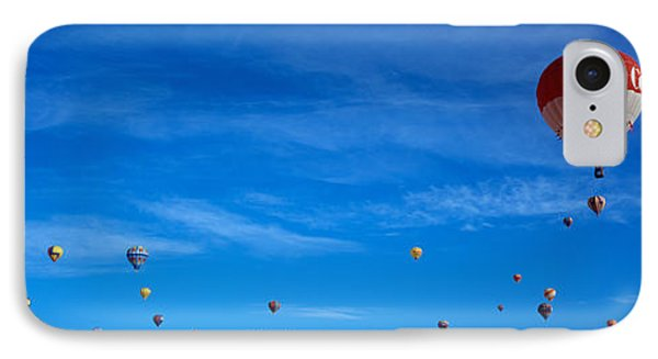 Low Angle View Of Hot Air Balloons IPhone Case by Panoramic Images