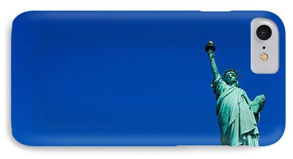 Low Angle View Of Statue Of Liberty IPhone 7 Case by Panoramic Images