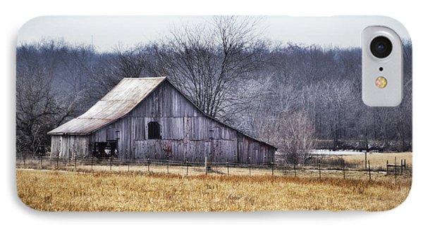 Low Crossings Barn IPhone Case by Cricket Hackmann